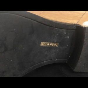 Louise et Cie Shoes - Louise et Cie Black Chelsea Boots Pearls on Heels